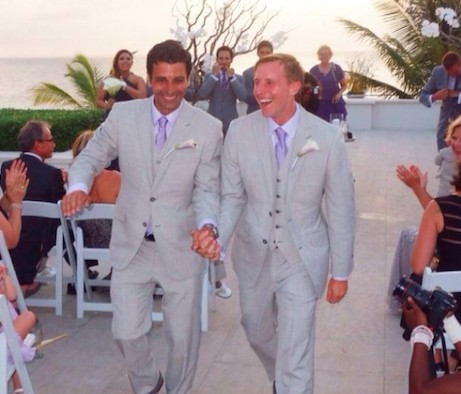 five great destinations for gay weddings