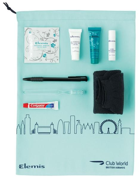 British Airways Business Class Amenity Kit