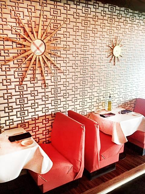 The coolest restaurant wallpaper in the country for Jlv creative interior design