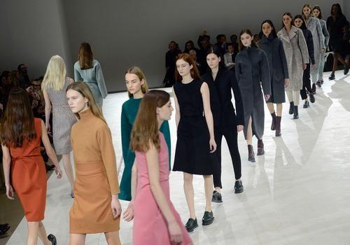 Jil Sander models