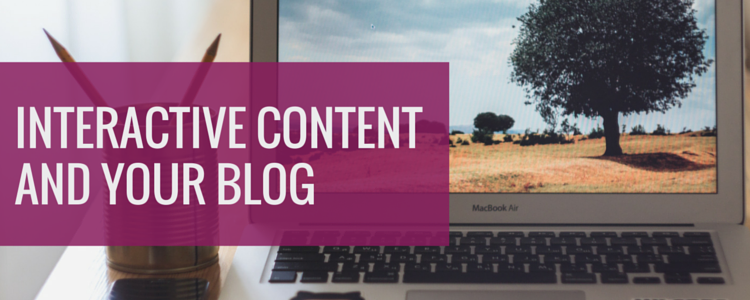 interactive content for your blog