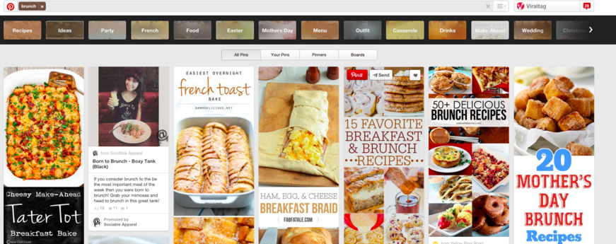 Brunch search on Pinterest