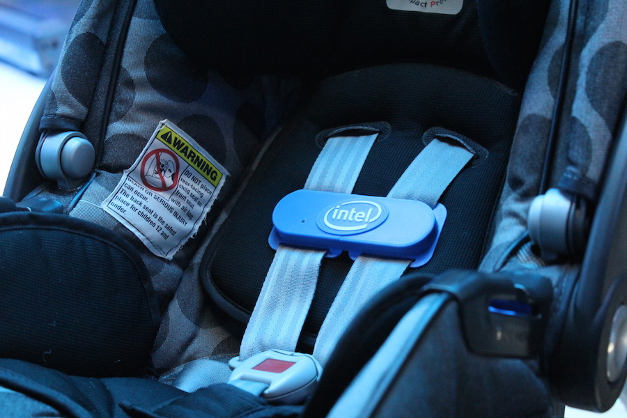 Intel Smart Clip Makes Sure You Never Forget Baby In The Car [CES 2015] image IMG 4283 900x600