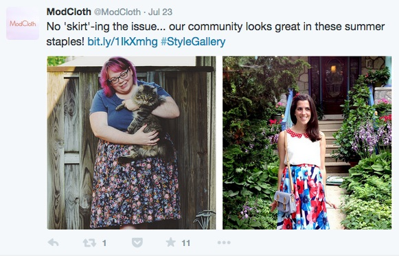 ModCloth on Twitter