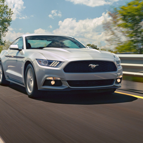 2015 Ford Mustang with EcoBoost