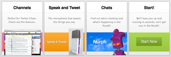 Join in on chats on Twitter - Nurph SusanGilbert.com