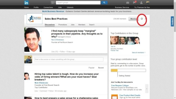 linkedin lead generation tips - finding people in groups