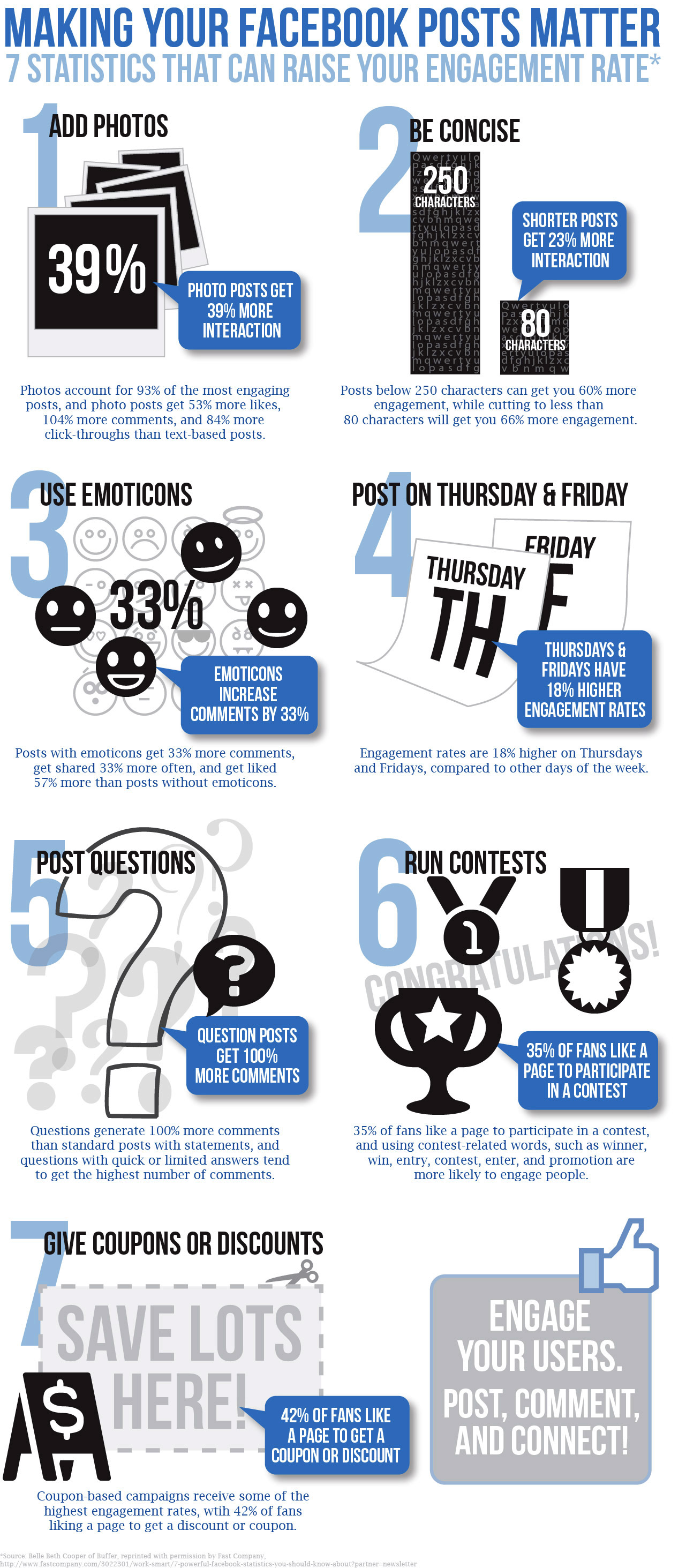 7 ways to raise Facebook engagement