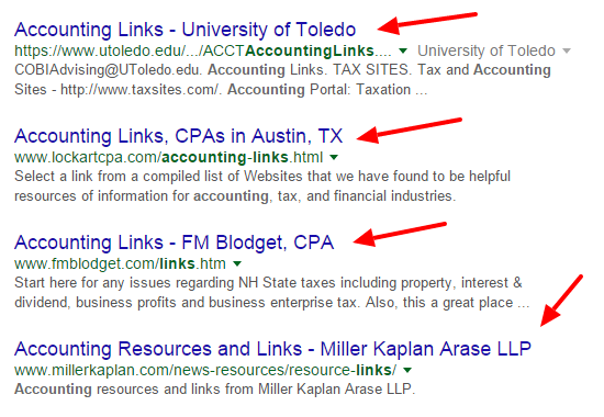Search results for broken accounting links
