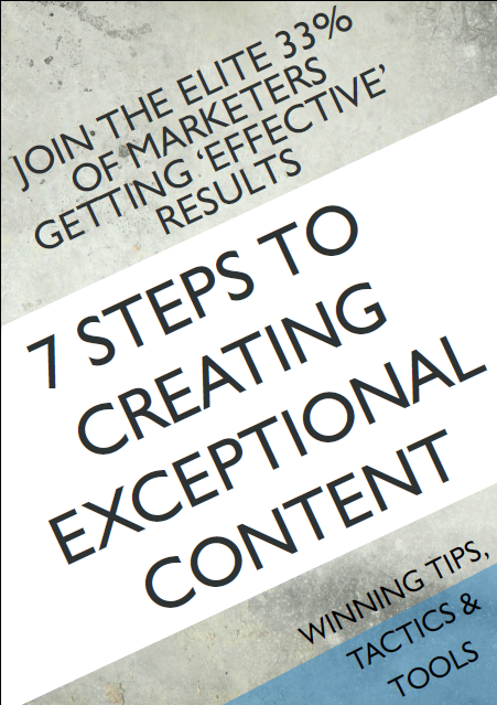 7 Steps to Better Content