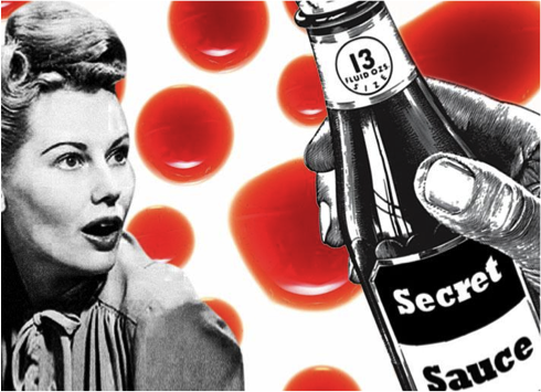 Content Marketing's Secret Sauce [Infographic]