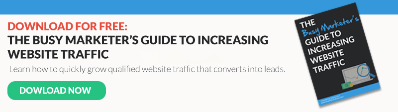 busy marketers guide to increasing traffic