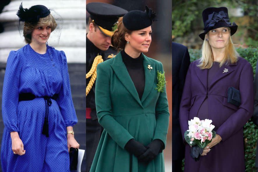 皇室的孕婦時尚