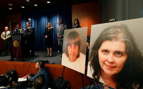 The Turpin parents have pleaded not guilty to charges of turture - Credit:  Damian Dovarganes/ Damian Dovarganes Source: AP