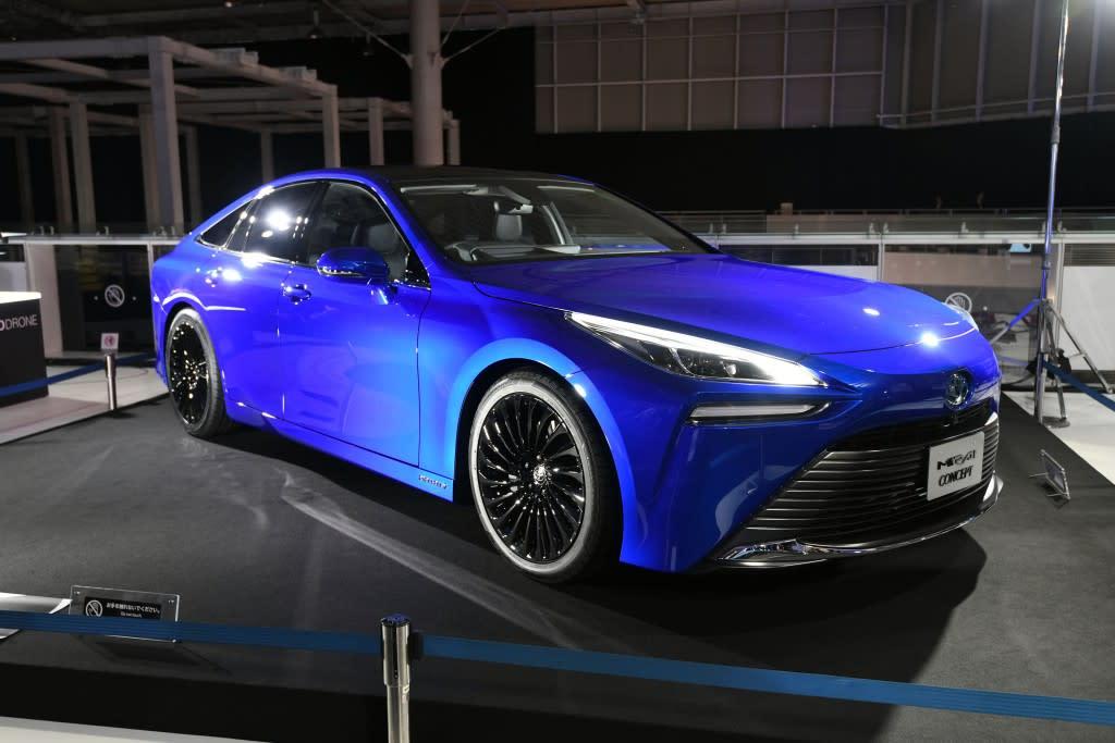 【東京車展】強化走行質感與魅力的新能源車,Toyota Mirai Concept 準量產車