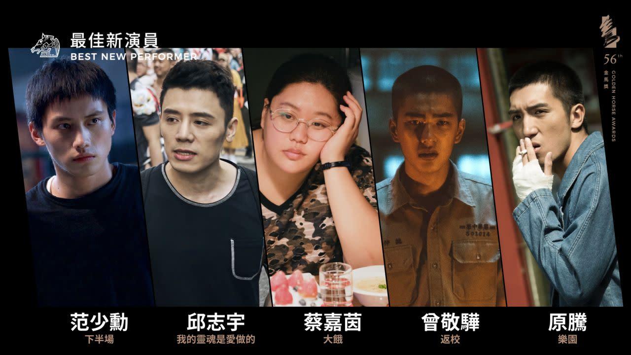 《金馬預測》金馬56最佳新演員