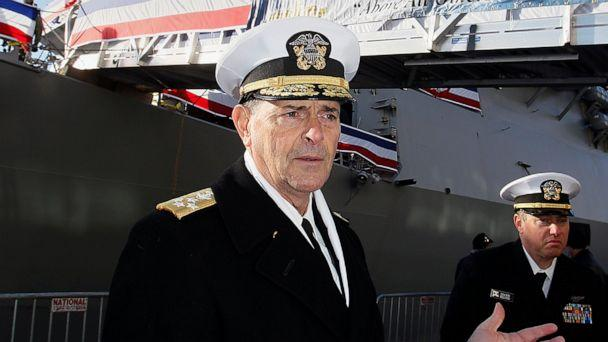 Admiral William Moran retires suddenly