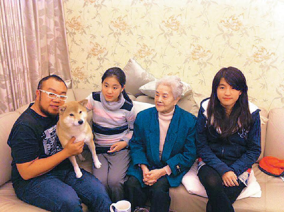 葉天倫:失智外婆什麼都忘 就是沒忘愛