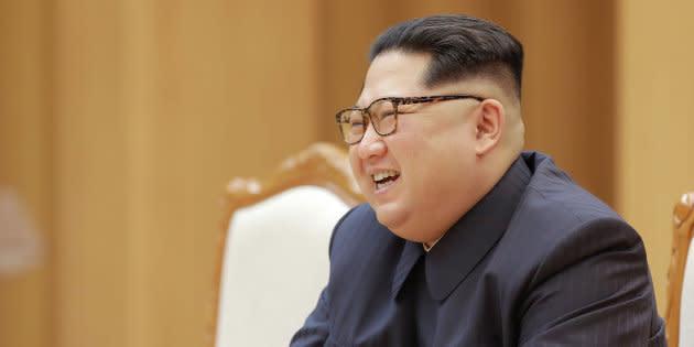 Kim Jong Un à Pyongyang le 14 avril 2018.
