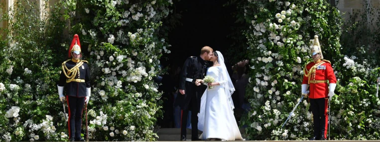哈利王子娶女星 皇室婚禮超吸睛
