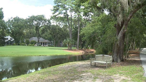 PHOTO: Witnesses saw a person being attacked by an alligator near a golf course at Sea Pines Plantation, a gated community on Hilton Head Island, South Carolina, said Beaufort County Sheriff's Office spokesman Capt. Bob Bromage. (WJCL)