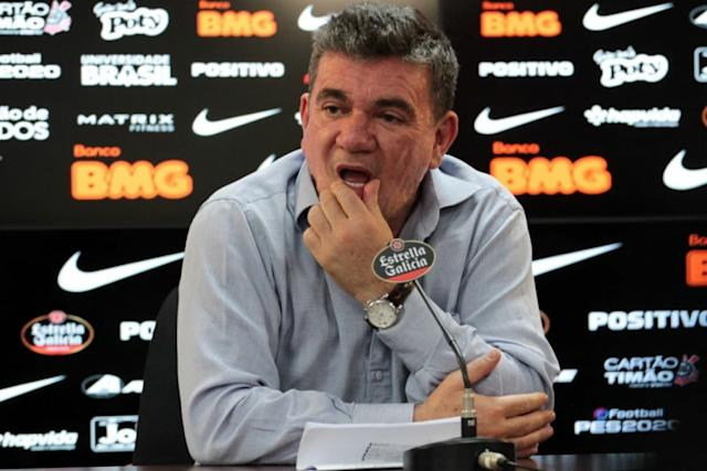 """安德烈斯·桑切斯(AndrésSanchez)谈到蒂亚戈·纽恩斯(Tiago Nunes):""""几乎没有人对科林蒂安说不"""""""