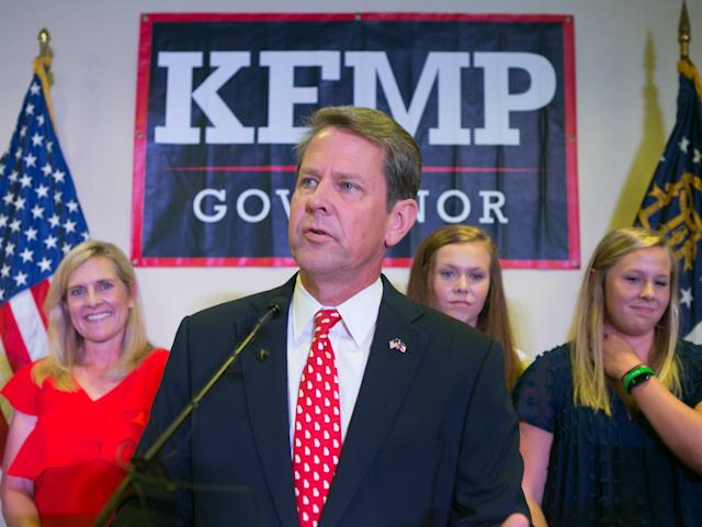Brian Kemp: Jessica McGowan/Getty Images