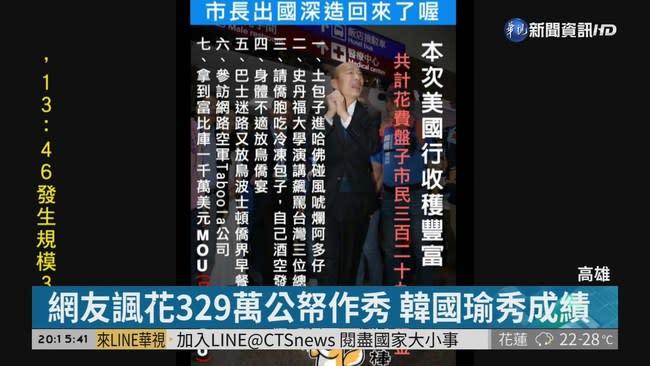 韓國瑜返台 支持者簇擁高喊選總統
