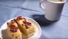 【電鍋】養生地瓜早餐─地瓜豆漿拿鐵&地瓜枸杞蒸糕