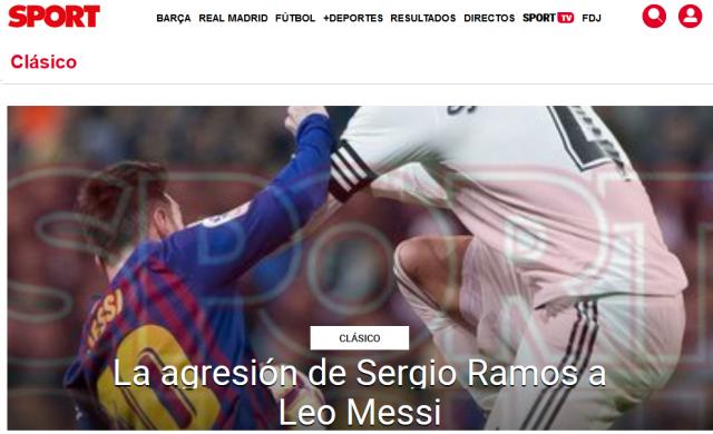Messi Ramos