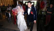江宏恩300萬婚禮娶某 婚紗竟起火了