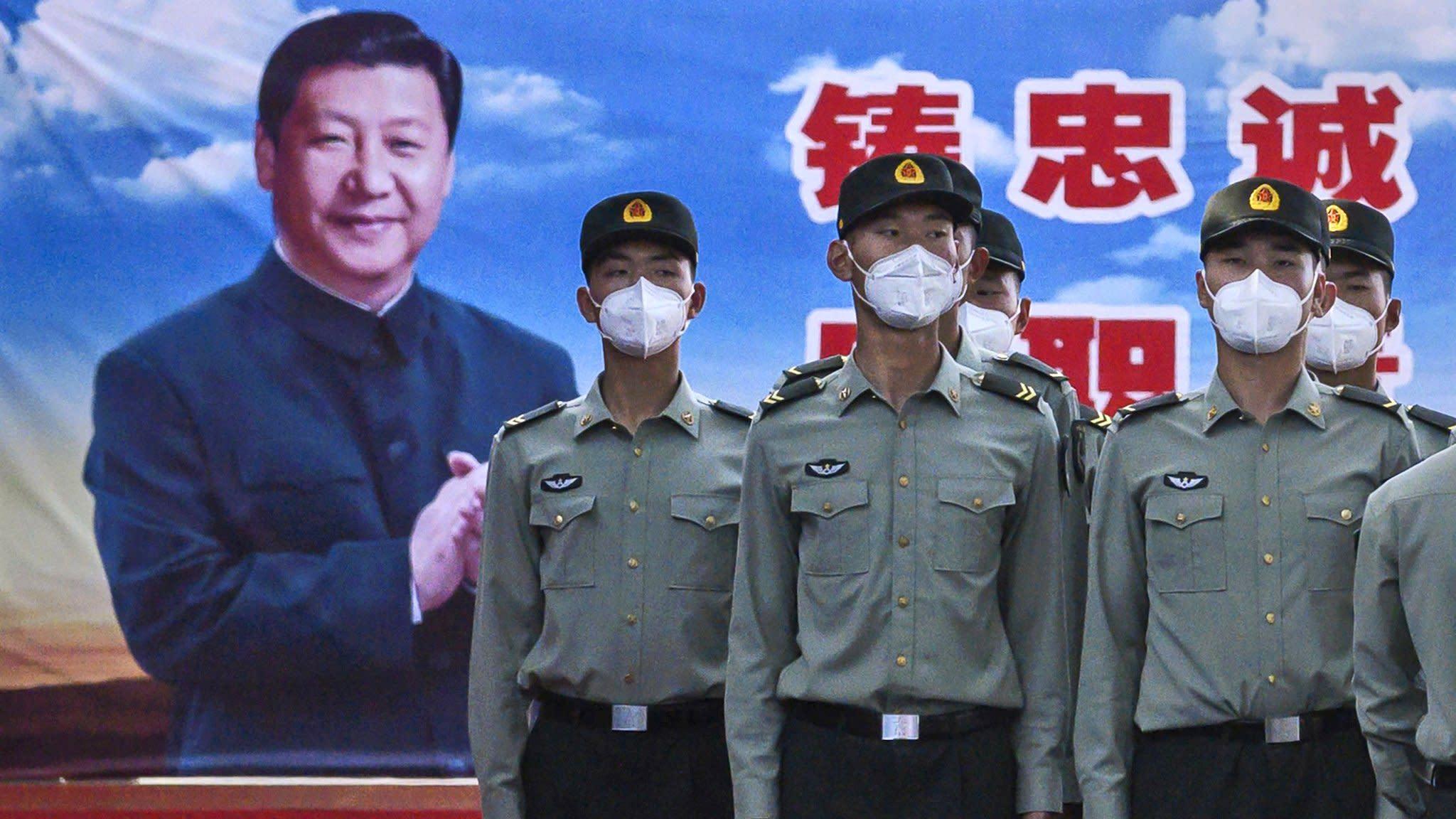 中國兩會2020:肺炎疫情推遲兩月終開幕 安保維穩風景再現北京城