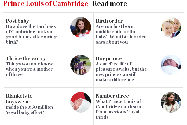 Royal Baby | Read more