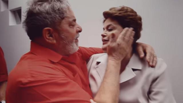 Lula e Dilma Rousseff em cena do documentário (Imagem: divulgação Netflix)