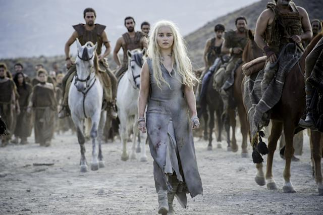 Daenerys (Emilia Clarke) has overcome a lot on Game of Thrones.