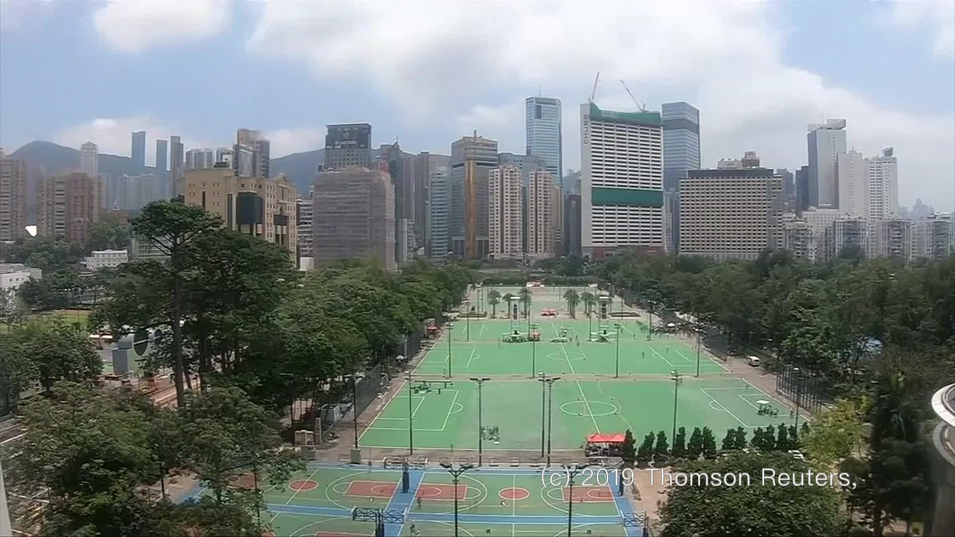 驚人「黑海」淹沒香港!6.16反送中遊行縮時影片如海水潰堤