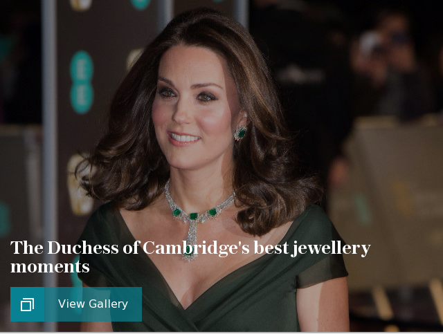 The Duchess of Cambridges best jewellery moments