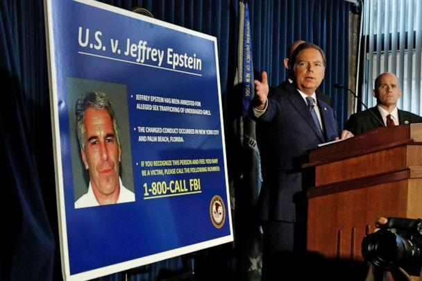PHOTO:U.S Attorney for the Southern District of New York Geoffrey Berman speaks during a news conference, in N.Y., July 8, 2019. (Richard Drew/AP)