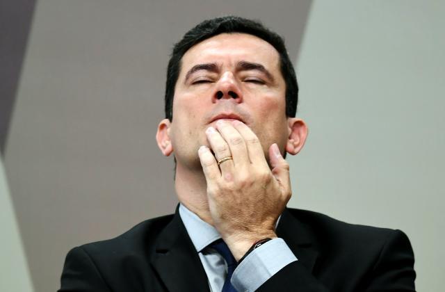 Em novas mensagens vazadas, procuradores da Lava-Jato questionaram arbitrariedade de Sergio Moro (Foto Evaristo Sá/AFP/Getty Images)