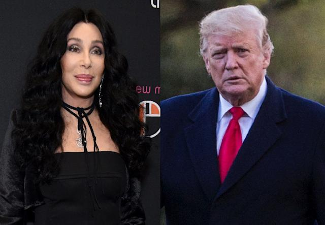 While Trump praised a tweet Cher posted about immigration, she made it clear she doesn't share any common ground with the