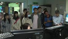 大學通識課參訪地方電視台 瞭解傳播科技運作