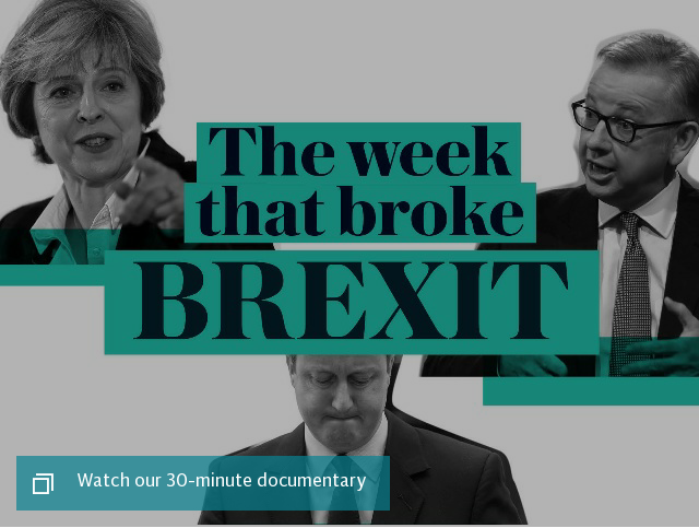 The week that broke Brexit