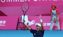 世大運》石油公司失業工人 6年後變成台灣第二位世大運男單球王