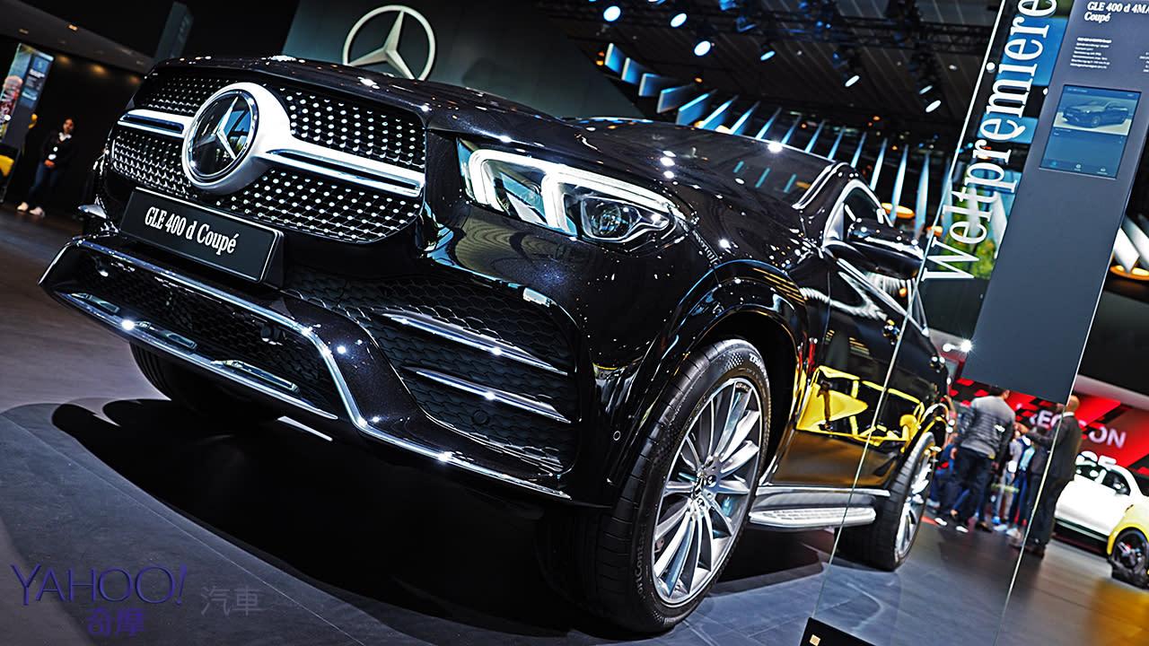 【2019法蘭克福車展】長尾依然不同凡響!Mercedes-Benz第2代GLE Coupé展現跑格硬實力