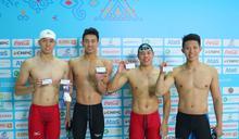 亞室運》林建良男子100自再添一銀 中華泳隊累計3金2銀1銅