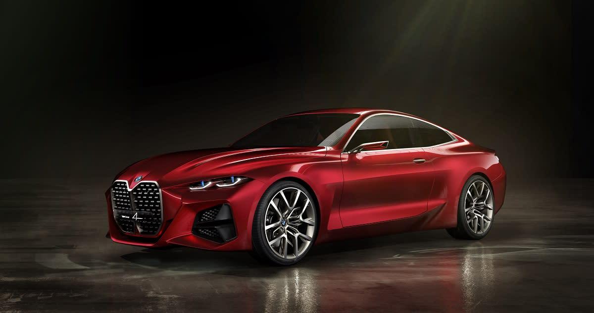 這就是下一代 4 Series的概念車  BMW Concept 4 !!