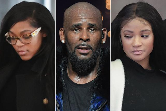 Joycelyn savage, R. Kelly and Azriel Clary