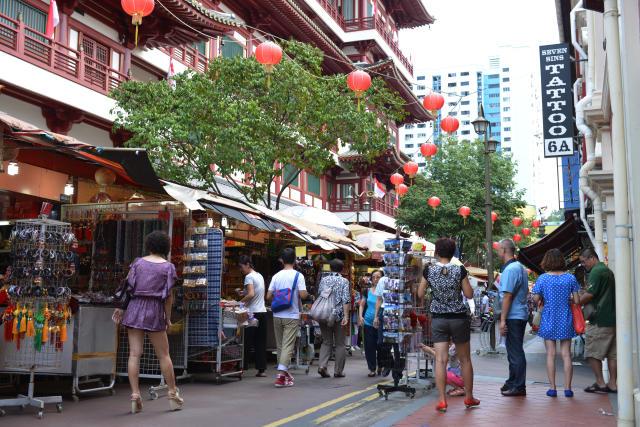Calle Sago de Chinatown, en Singapur. Foto: Schöning/ullstein bild via Getty Images.