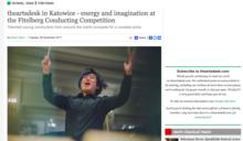 台灣音樂之光:楊書涵獲得波蘭第十屆費特伯格指揮大賽冠軍