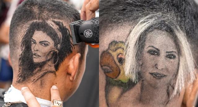 理发师以逼真的设计在社交网络上风靡一时(照片:Playback / Instagram @doguetobarber)